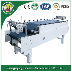 Full Automatic Corrugated Box Making Paper Bag Folding Gluing Machine