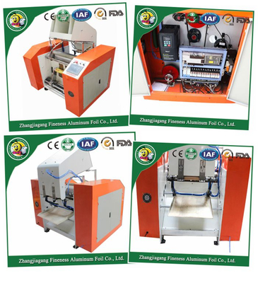Aluminum Foil Machine (HAFA-500) for PE Rewinding and Cutting