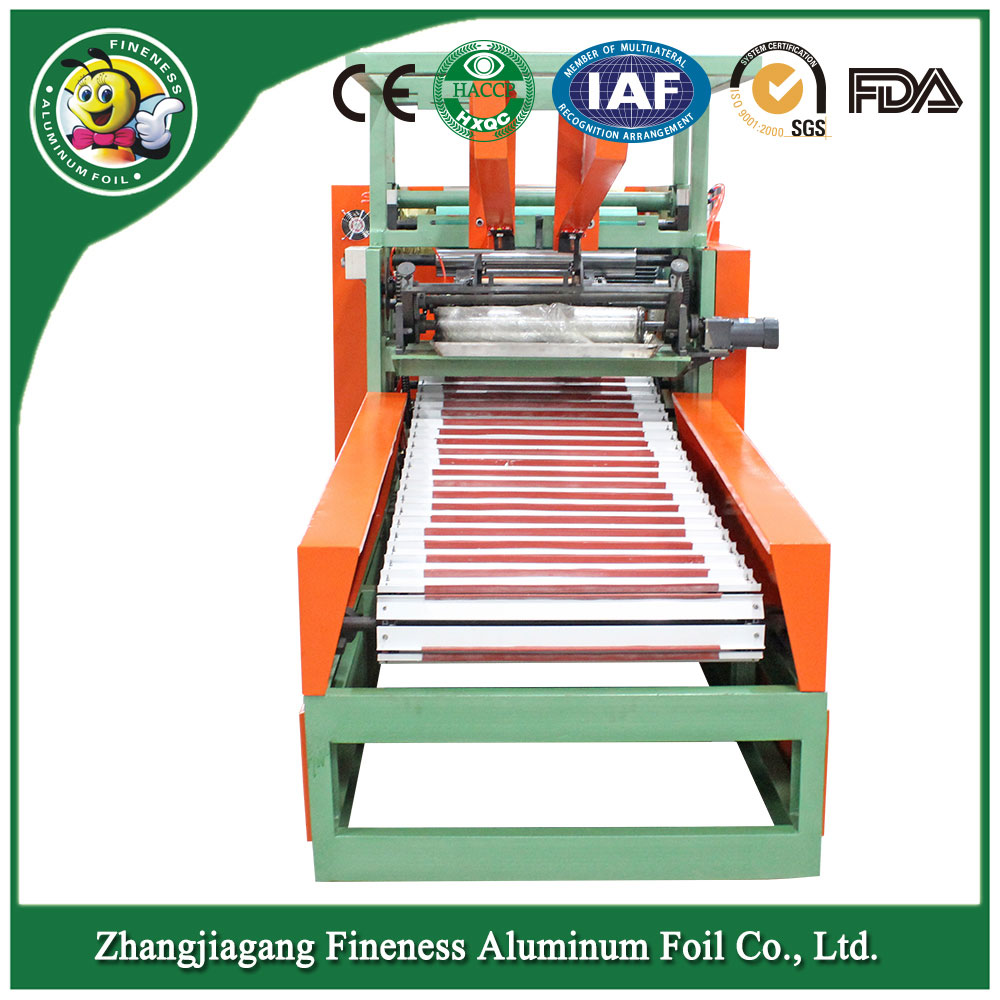 Latest Automatic Aluminium Foil Cutting Making Machine