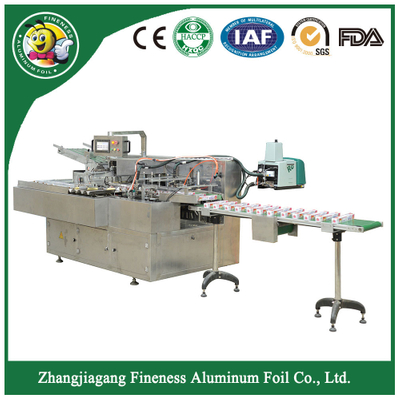 Top Quality Stylish Bottle Cartoning Box Packing Machine