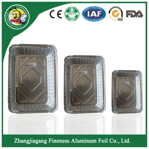Disposable Takeaway Airline Aluminium Foil Container