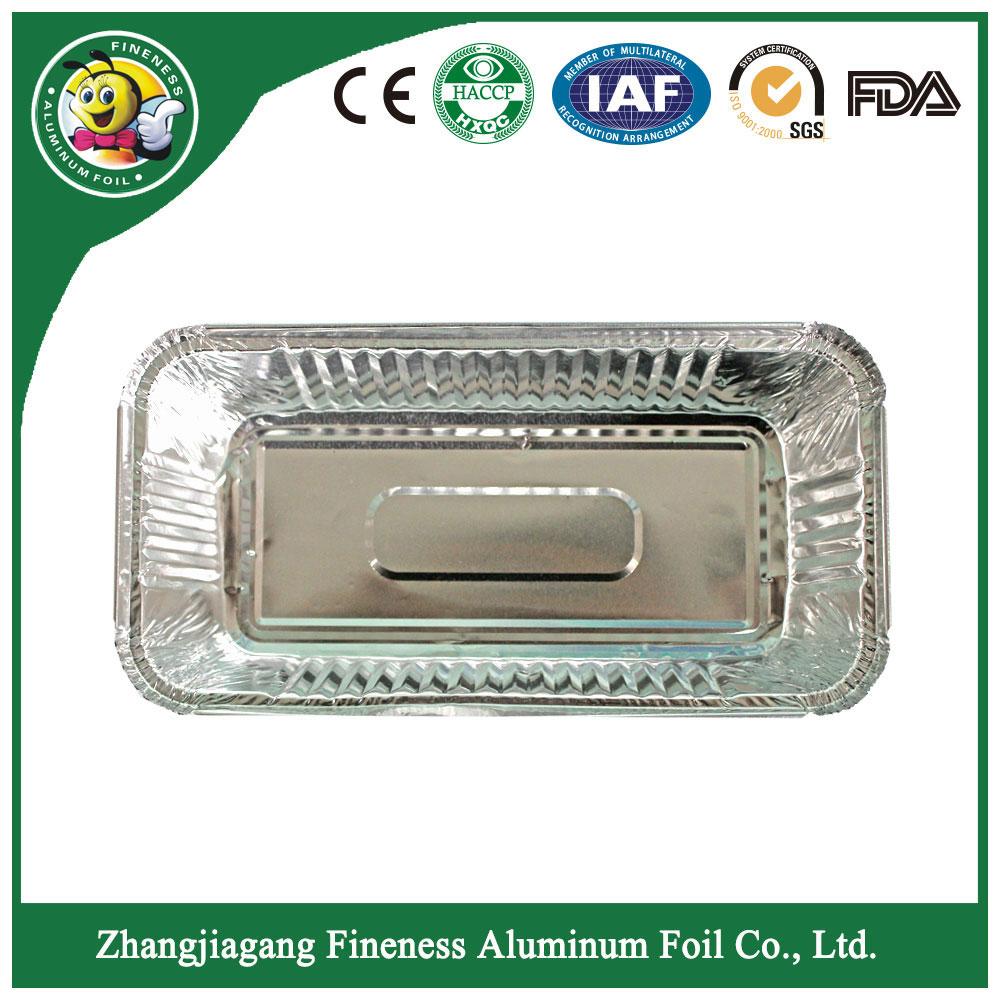 Take-Away Aluminum Foil Food Container-F8017
