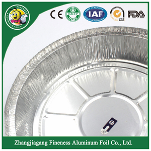 Superior Quality Round Food Container Aluminum Foil Pan