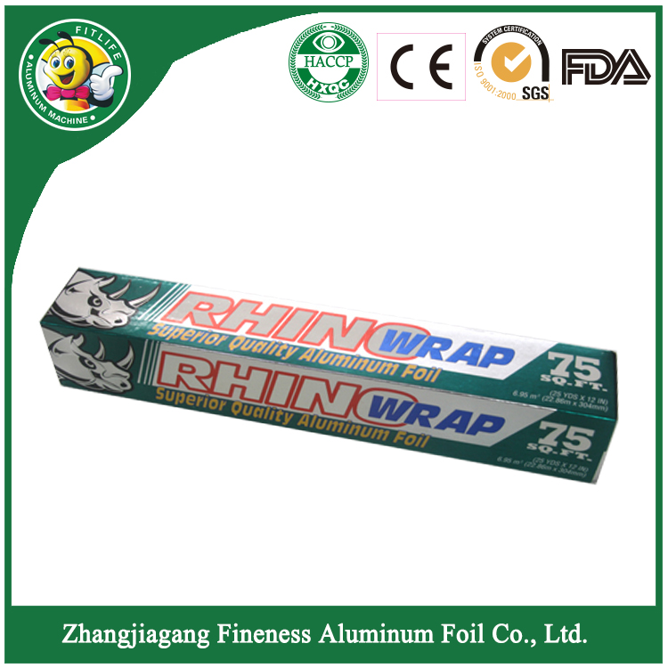 High Quality of Household Aluminum Foil Roll
