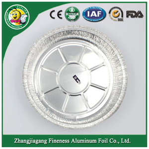 Round Aluminium Foil Disposable Containers