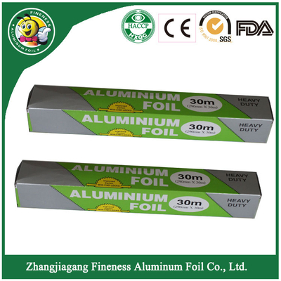 Aluminium Catering Foil Roll with Fashion Packing