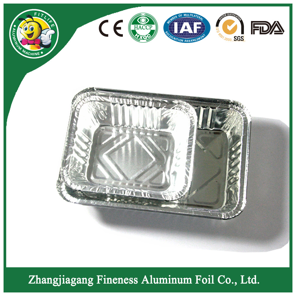 Aluminum Foil Food Container with Color