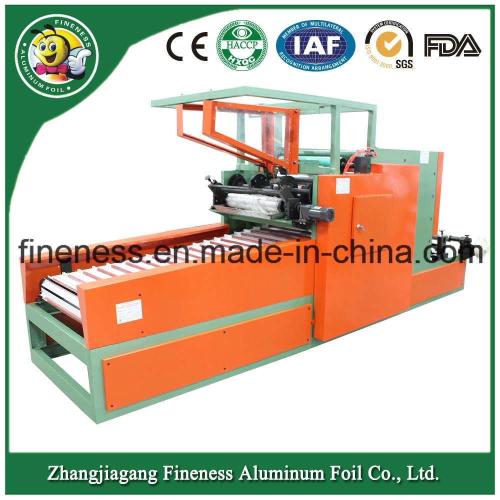 High Quality Automatic Aluminium Foil Cutting and Making Machine
