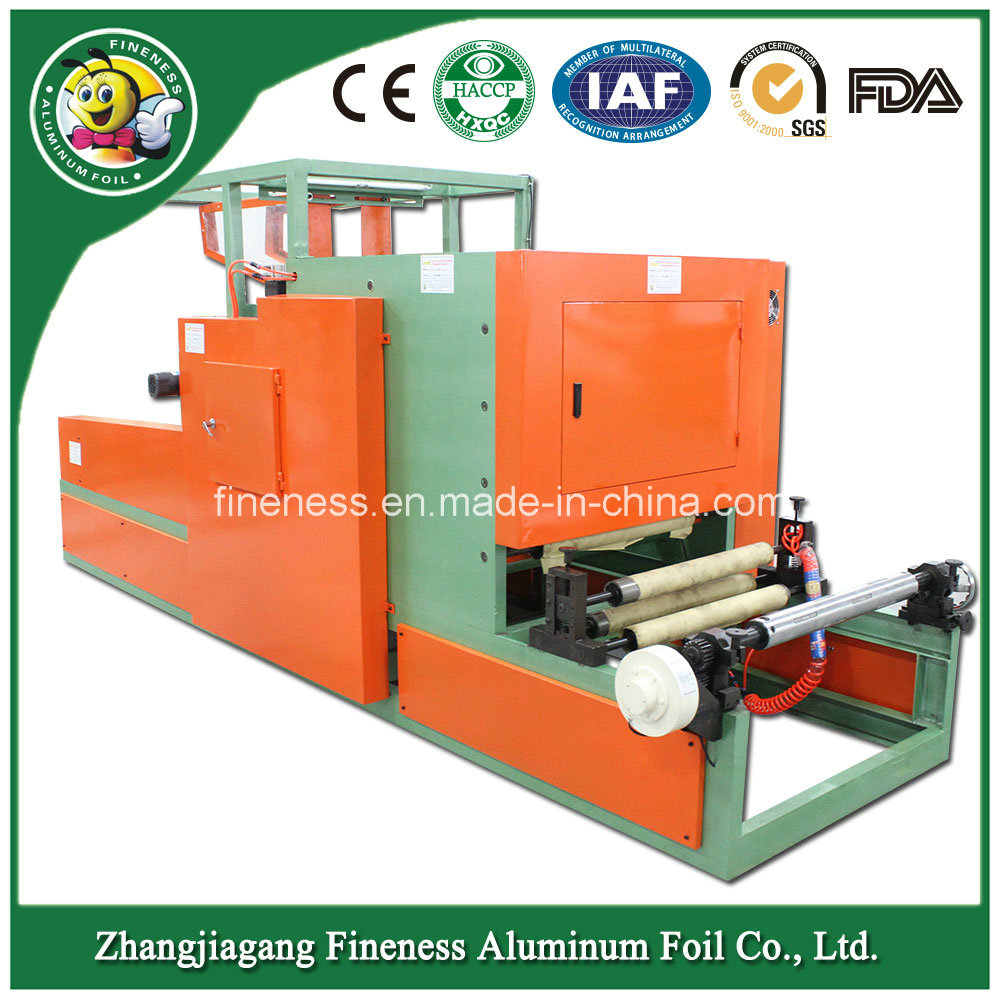Household Aluminum Foil Rewinding and Cutting Machine